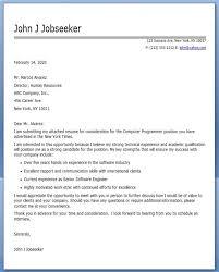 Sample Resume For Programmer by Computer Programmer Cover Letter Sample Creative Resume Design