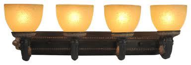 Felix 4 Light Cage Vanity - rosedale 4 light bath bar traditional bathroom vanity lighting