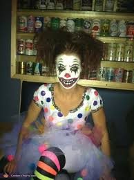 Evil Clown Halloween Costume 124 Clowning Images Evil Clowns Creepy