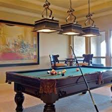 rustic pool table lights rustic home billiard room design with pool table and bronze billiard