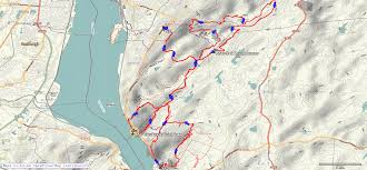 Nyc Marathon Route Map Red Newt Racing Breakneck Point Trail Course