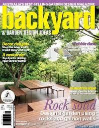 Backyard  Garden Design Ideas Magazine Issue  PDF - Backyard and garden design ideas magazine