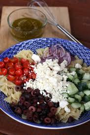 Simple Pasta Salad Recipe Simple Zesty Greek Pasta Salad