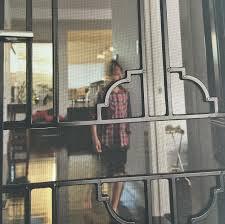 glass security doors macarthur home improvements security door window grill campbelltown