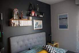 chambre gris et jaune une chambre moderne en gris et jaune la suite relooking