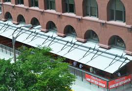 Industrial Awnings Canopies Metal Awnings U0026 Canopies Company Fabric Banners Tension