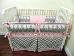 Elephant Crib Bedding Sets Pink Elephant Crib Bedding Set Myfilms Club
