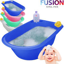 Baby Bath Tub With Shower Jumbo X Large Baby Bath Tub Plastic Washing Time Big Toddler