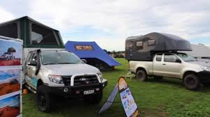 overland camper the best 4x4 demountable camper van at adventure overland show