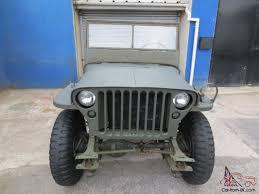 1945 willys mb ww2 jeep gpw nice winter project