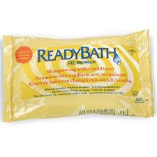 Comfort Personal Cleansing Shampoo Cap Readybath No Rinse Shampoo Cap Unscented Medline U2013 Case Of 30
