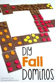 diy fall dominoes for cool math games b inspired mama
