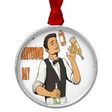 bartender ornaments keepsake ornaments zazzle