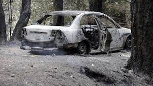 California Wildfires Burn Cars by Common Theme In Fire Deaths Hesitance To Evacuate San Francisco