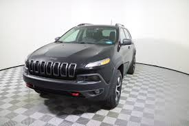 wood panel jeep cherokee new 2018 jeep cherokee trailhawk sport utility in parkersburg