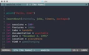 Dark Colors Names Github Lifepillar Vim Wwdc16 Theme Colorful Dark Color Scheme
