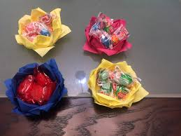 paper napkin flower tutorial how to make a candy bowl out of paper napkins video tutorial