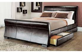 Leather Headboard King Magnificent Leather Headboard King Poole Cocoa Leather Headboard