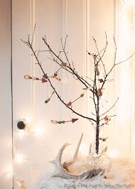twig christmas tree handmade christmas ornaments rustic twig arrows yellow bliss road
