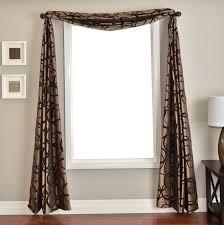 scarf curtain decorating ideas home design ideas