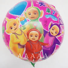 foil balloons 2pcs lot 18inch balloons teletubbies birthday foil