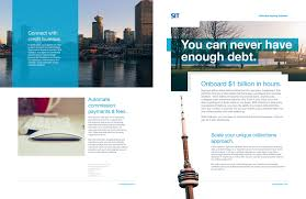 brochure design software debt collection software brochure design copy on behance