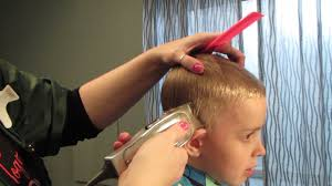 how to cut boys hair with clippers 10 minutes easy youtube