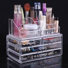 space organizers modern makeup room furniture with clear acrylic makeup organizer