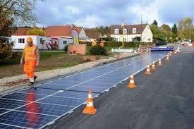 si e auto la route en normandie une route solaire au banc d essai
