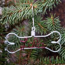 personalized ornaments foxblossom co