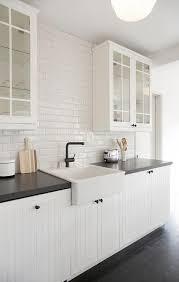 ikea white beadboard kitchen cabinets white beadboard kitchen cabinets with beveled subway