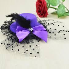 beautiful hair pins shalisi 2017 new hairpins ladys mini top hat cap lace fascinator