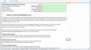 michigan department of education budget worksheet mi streamnet