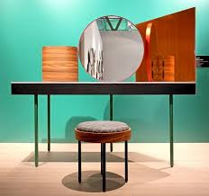 Turquoise Vanity Table Levien Chandlo Dressing Table For Bd Barcelona Design