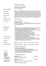 Professional Engineer Resume Examples Professional Resume Network Engineer 28 Images Network