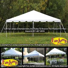 party rental mn 20 x 20 frame tent party rental in minnesota mn jumps
