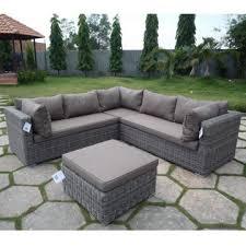 lovable l shaped patio sofa outdoor l shape sofa set global