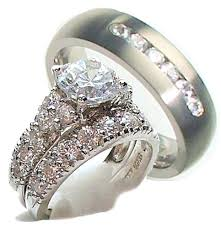his and hers wedding rings sets wedding rings sets his and hers slidescan