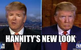 Sean Hannity Meme - ted koppel tells sean hannity he is bad for america to his face