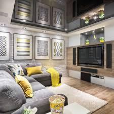 chambre gris et jaune chambre gris fonce et blanc metz deco inspirations avec deco salon