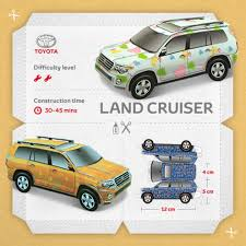toyota manufacturing toyota paper car models