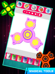 fidget spinner kids coloring book pages android apps google play