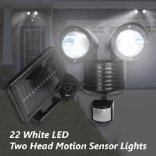 Motion Sensing Light Solar Motion Detector Light Ebay