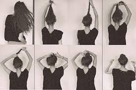 tutorial sirkam rambut panjang cara mudah cepol rambut sendiri untuk acara resmi kasual