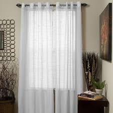 Grommet Drapes Amazon Com Lavish Home Mia Jacquard Grommet Single Curtain Panel