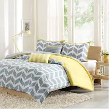 Geometric Crib Bedding by Bedroom Cool Navy Blue And Yellow Bedding Set With Geometric