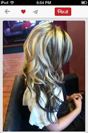 hair styles brown on botton and blond on top pictures of it 59 best hair styles images on pinterest hair ideas hair colors