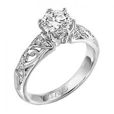 carved engagement rings artcarved diamond engagement ring artcarved engagement rings