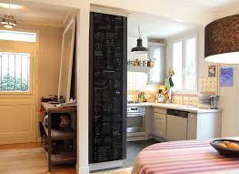 tableau noir cuisine papier peint original décoration murale en édition limitée lé