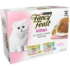 purina fancy feast kitten classic pate collection cat food 12 3 oz